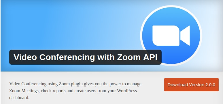 Zoom Conference WP Plugin Documentation - Deepen Bajracharya